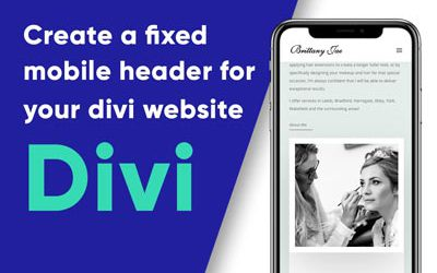 How to Fix the Divi Header on Mobile